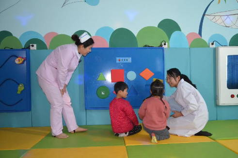 宁津县中医院:民生工程见成效 患儿康复有保