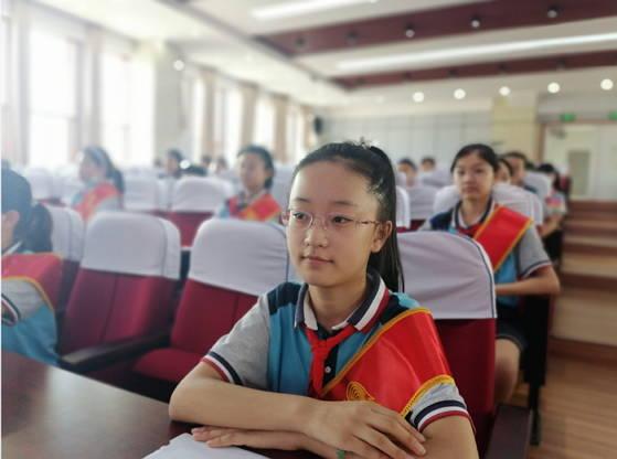 """临沂兰山小学少先队拍了拍你,新一届""""红领巾小主人志愿服务岗""""成立啦"""