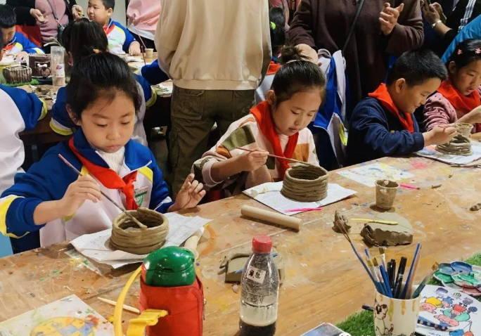 博山区四十亩地小学开展优秀传统文化传承活动