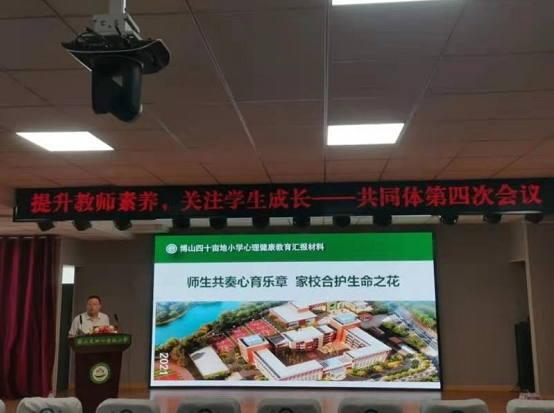 淄博市博山区四十亩地小学 促进专业发展 提升核心素养