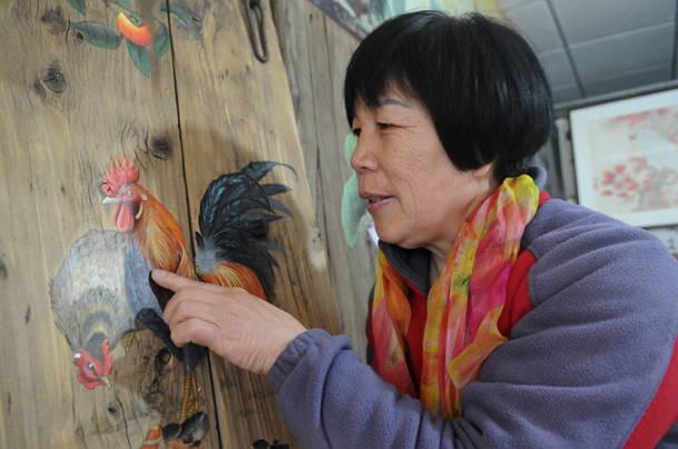 李玉莲:从乡村女画家到淄博工匠