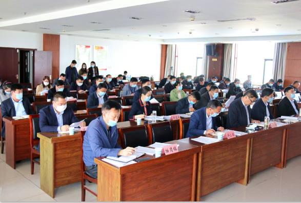 莒南县农村道路硬化专项擂台赛工作推进会议召开