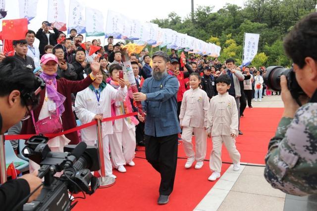 中国(日照)大青山第七届国际太极拳大赛开幕
