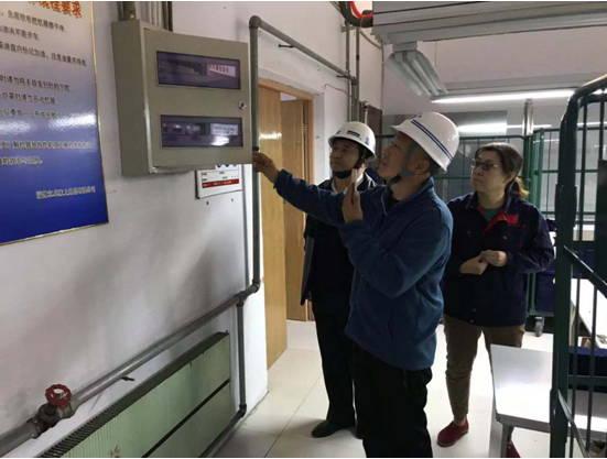 张店区中埠镇安监站:对立卓开展安全生产检查工作