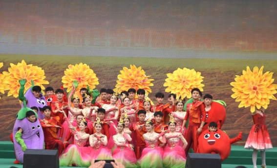 郯城县第四届农民丰收节在归昌乡成功举办