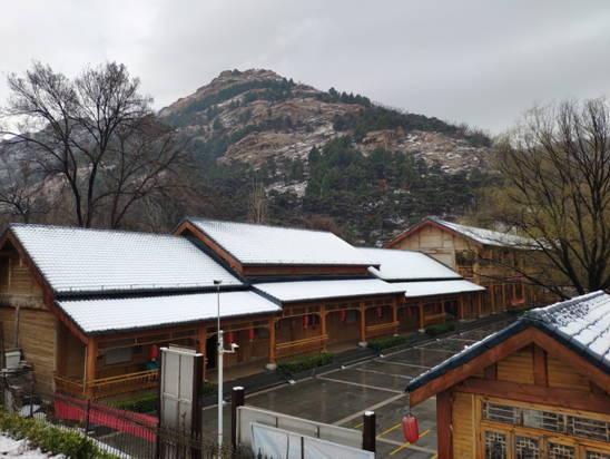 雪后石门山,处处好景观