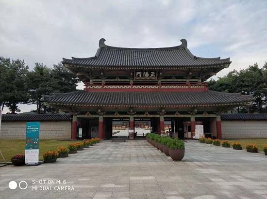 百济文化园区重现1500年前百济王国盛况