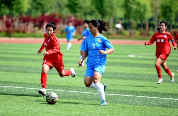 全国青少年校园足球联赛:山东郯城一中挺进四强