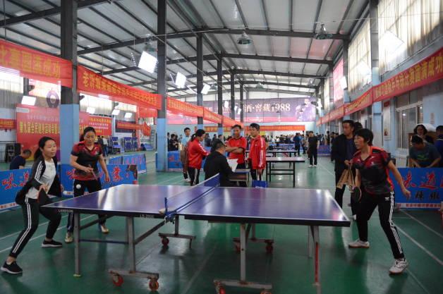 第九届全面健身运动会暨山东省千乡乒乓球沂水初赛火热开幕